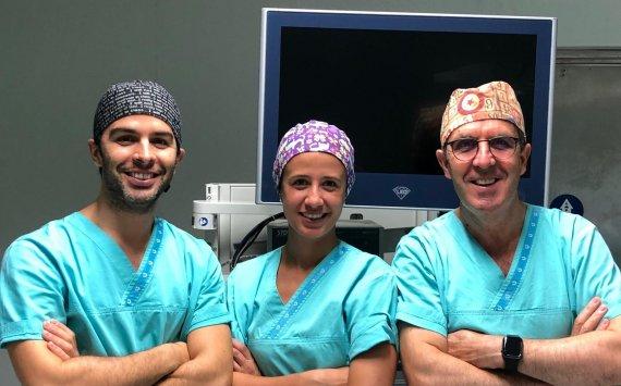 Equipa de Cirurgia Minimamente Invasiva da Clivida faz mais uma Intervenção Bem Sucedida